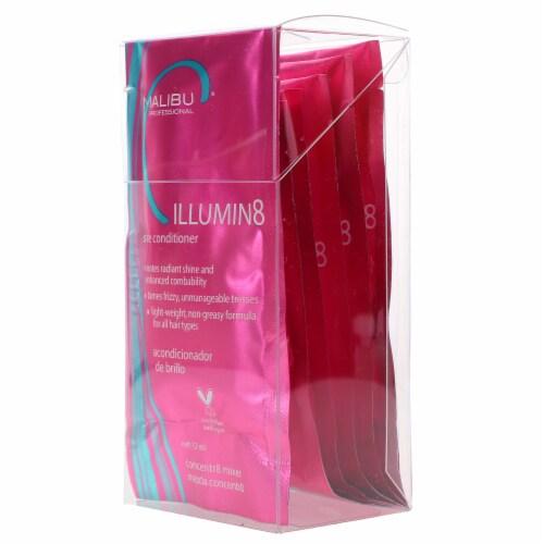 Malibu C Illumin8 Shine Conditioner 6 Pack Perspective: back