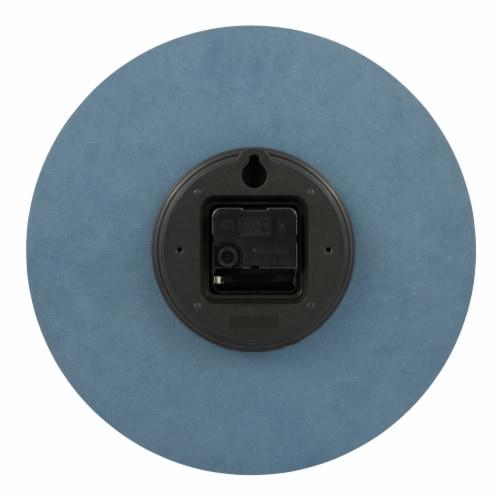 La Crosse Technology Paper Wall Clock - Blue Perspective: back