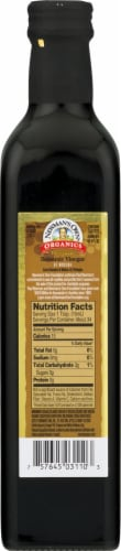 Newman's Own Organics Balsamic Vinegar of Modena Perspective: back