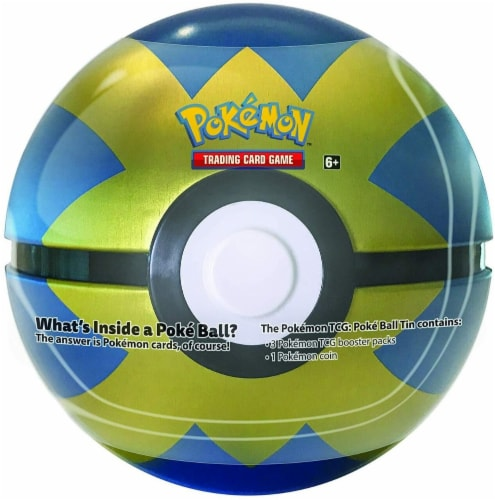 Pokemon TCG Card Game Poke Ball - Blue and Gold Perspective: back
