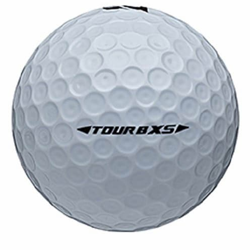 Bridgestone Tour B XS Golf Balls Low Average Score 8SWX6D, 1 Dozen Perspective: back