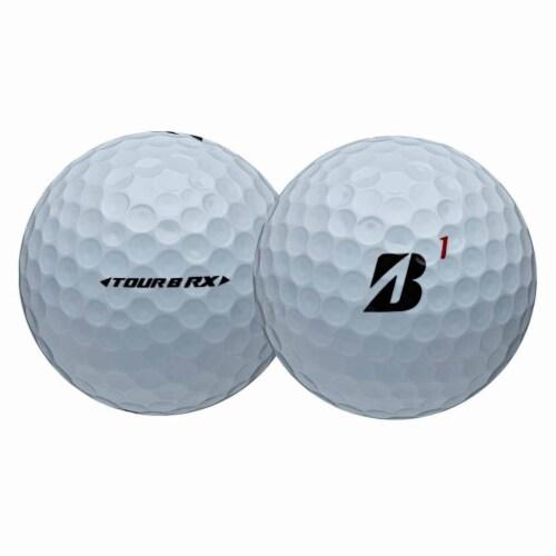 Bridgestone Tour B RX Feel and Distance Golf Balls Low Average Score, 1 Dozen Perspective: back