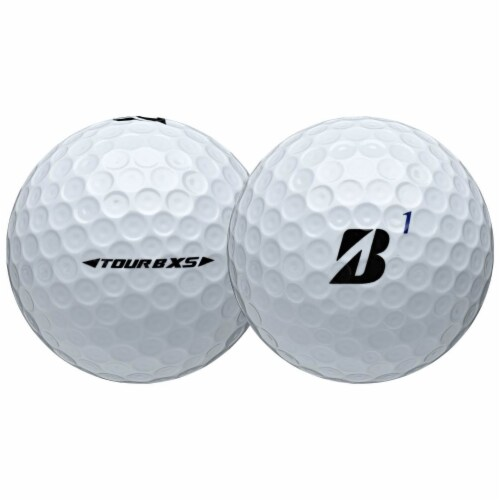 Bridgestone Tour B RXS Feel & Distance White Golf Balls Low Average Score, Dozen Perspective: back