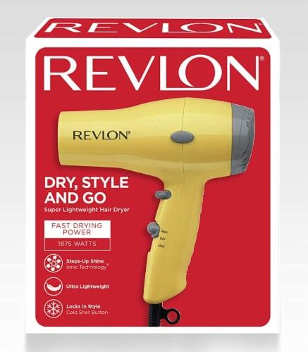 Revlon® Essentials Compact Styler Hair Dryer Perspective: back