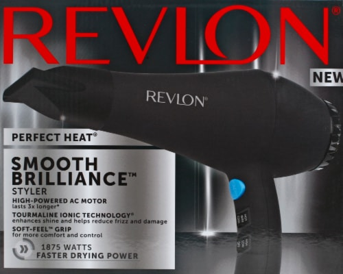 Revlon® Perfect Heat Smooth Brilliance Styler Hair Dryer Perspective: back
