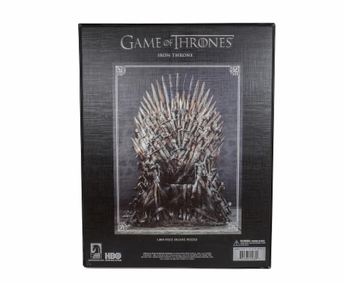 Game Of Thrones Puzzle The Iron Throne 1000 Piece Jigsaw Puzzle | Ages 15 & Up Perspective: back
