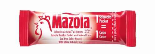 Mazola Tomato Bouillon Packets with Chicken Flavor Perspective: back