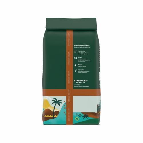 Starbucks Colombia Medium Roast Ground Coffee Perspective: back