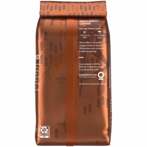 Starbucks Organic Yukon Blend Medium Roast Ground Coffee Perspective: back