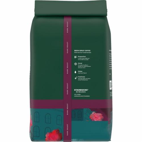 Starbucks® Caffe Verona Ground Coffee Perspective: back