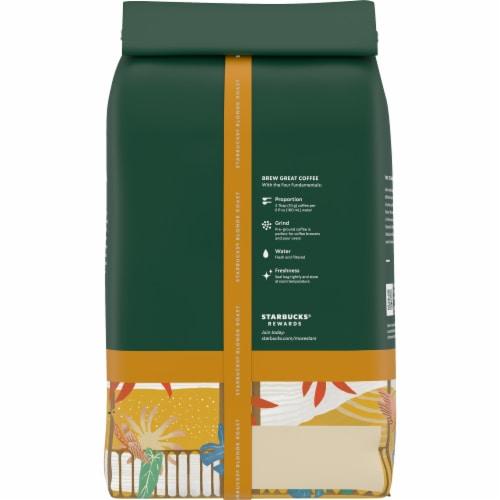 Starbucks® Veranda Blend Ground Coffee Perspective: back
