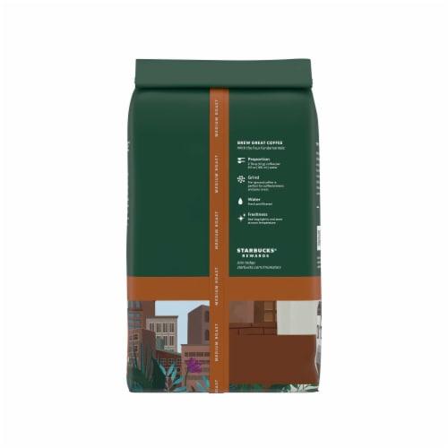 Starbucks Pike Place Roast Medium Roast Ground Coffee Perspective: back
