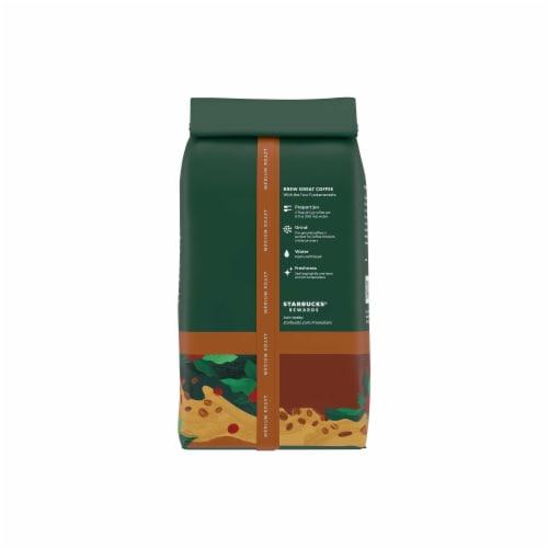 Starbucks House Blend Medium Roast Ground Coffee Perspective: back
