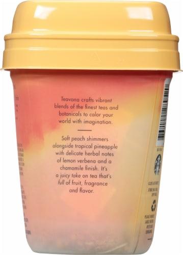 Teavana Peach Tranquility Herbal Tea Sachets Perspective: back