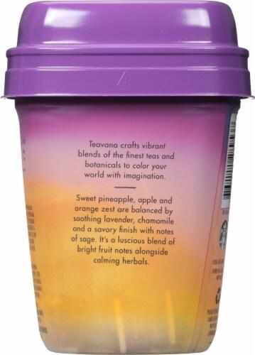 Teavana Citrus Lavender Herbal Tea Sachets Perspective: back