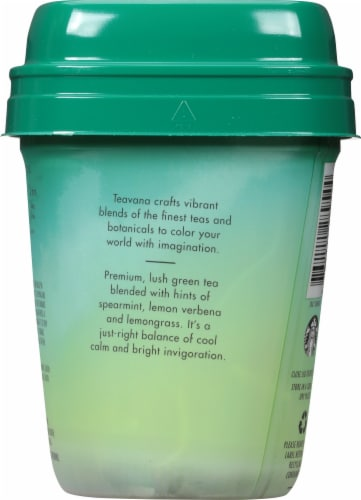 Teavana Jade Citrus Mint Green Tea Blend Sachets Perspective: back
