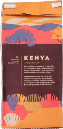 Starbucks Kenya Medium Roast Whole Bean Coffee Perspective: back