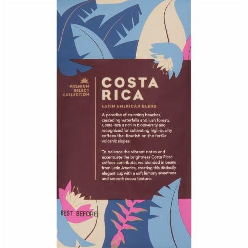 Starbucks Costa Rica Medium Roast Whole Bean Coffee Perspective: back