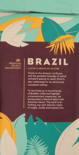 Starbucks Brazil Medium Roast Whole Bean Coffee Perspective: back