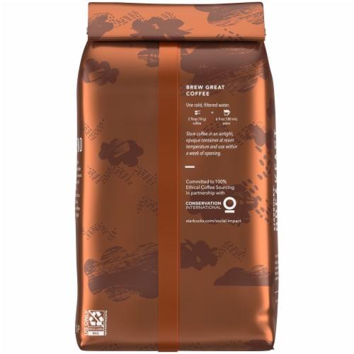 Starbucks Breakfast Blend Medium Roast Ground Coffee Perspective: back