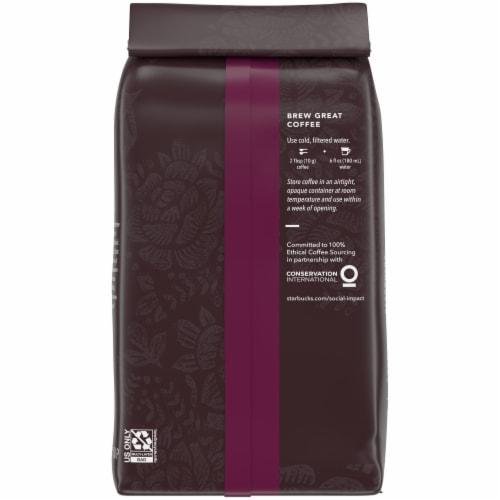 Starbucks Caffe Verona Dark Roast Ground Coffee Perspective: back