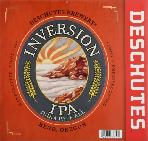 Deschutes Brewery Inversion IPA Perspective: back