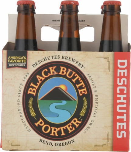 Deschutes Brewery Black Butte Porter Beer Perspective: back