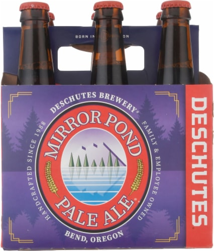 Deschutes Brewery Mirror Pond Pale Ale Perspective: back