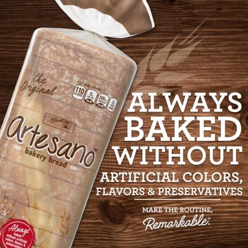 Alfaro's® Artesano™ White Bakery Bread Perspective: back