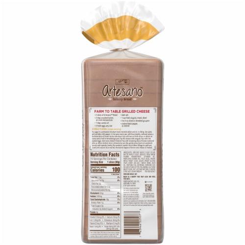 Alfaro's® Artesano™ Golden Wheat Bread Perspective: back