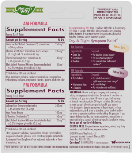 Nature's Way® AM PM PeriMenopause Formula Perspective: back
