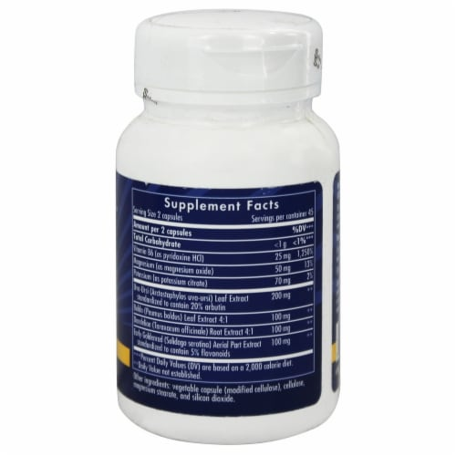 Enzymatic Therapy Aqua-Flow, 90 Vegetarian Capsules Perspective: back