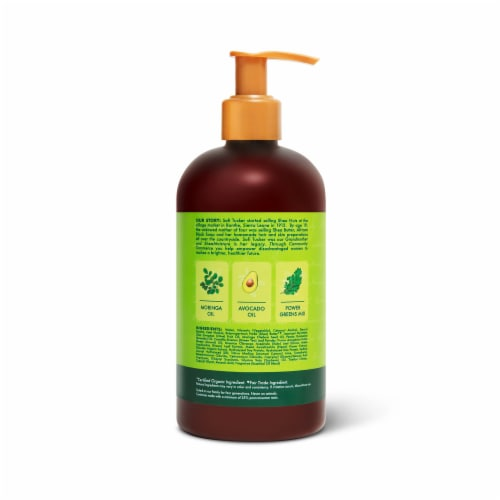 Shea Moisture Power Greens Conditioner Perspective: back
