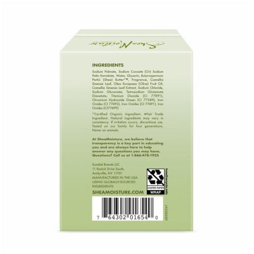 Shea Moisture Green Tea & Olive Oil Moisturizing Bar Soap Perspective: back
