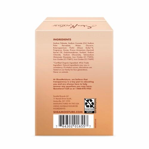 Shea Moisture Apricot & Honey Nourishing Bar Soap Perspective: back
