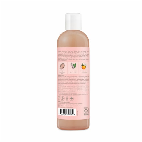 Shea Moisture Pink Himalayan Salt Relaxing Body Wash Perspective: back