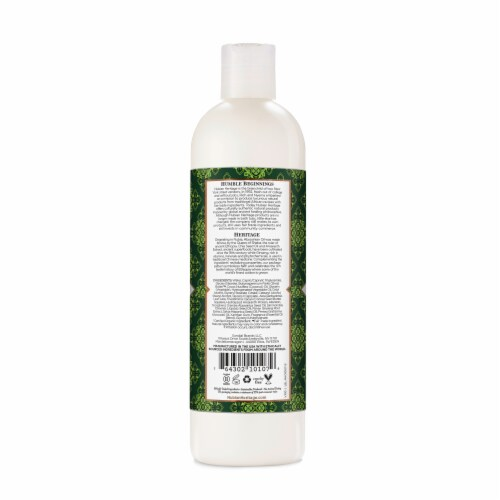 Nubian Heritage Body Lotion Abyssinian Oil & Chia Seed Perspective: back