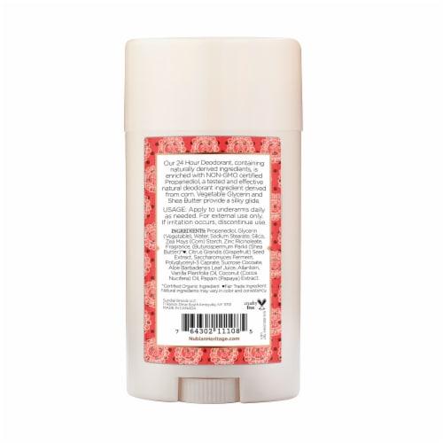 Nubian Heritage Coconut & Papaya Deodorant Perspective: back