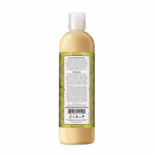 Nubian Heritage Indian Hemp and Haitian Vetiver Body Wash Perspective: back