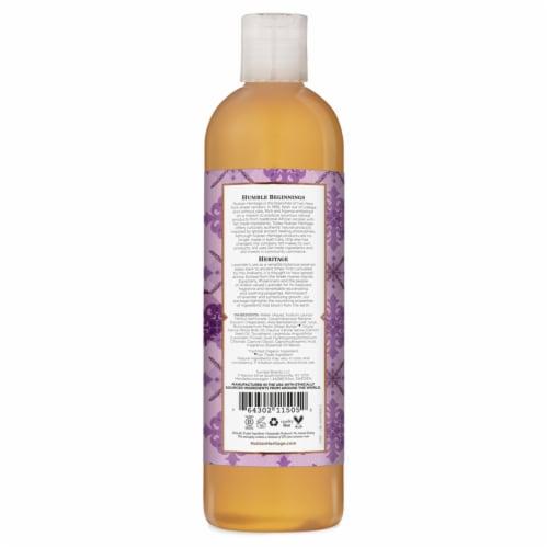 Nubian Heritage Lavender Wildflower Body Wash Perspective: back