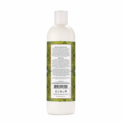 Nubian Heritage Oliver & Green Tea Lotion Perspective: back