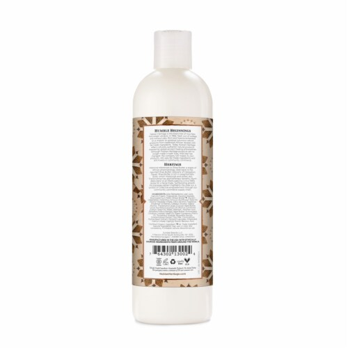 Nubian Heritage Paraben-Free Raw Shea Butter Body Lotion Perspective: back