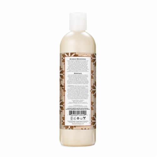 Nubian Heritage Raw Shea Butter Body Wash Perspective: back