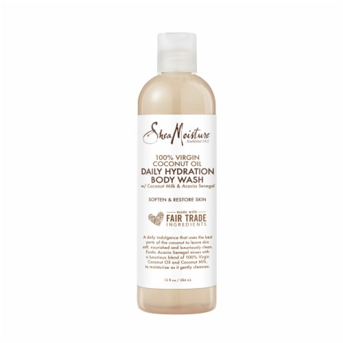 Shea Moisture Coconut Oil Daily Hydration Body Wash Perspective: back