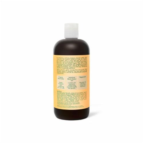 Shea Moisture Jamaican Black Castor Oil Strengthen Grow & Restore Shampoo Perspective: back