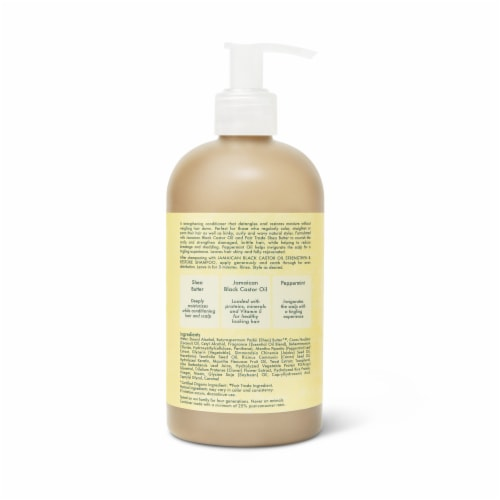 Shea Moisture Jamaican Black Castor Oil Conditioner Perspective: back