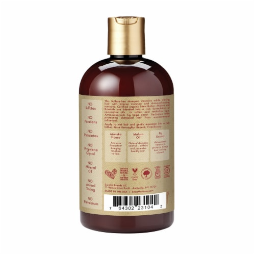 Shea Moisture Intensive Hydration Manuka Honey And Mafura Oil Shampoo Sulfate Free Perspective: back