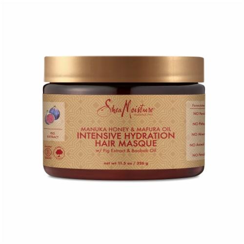 Shea Moisture Manuka Honey & Mafura Oil Intensive Hydration Hair Masque Perspective: back