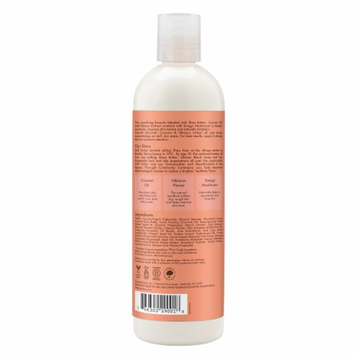 Shea Moisture Coconut & Hibiscus Body Lotion Perspective: back