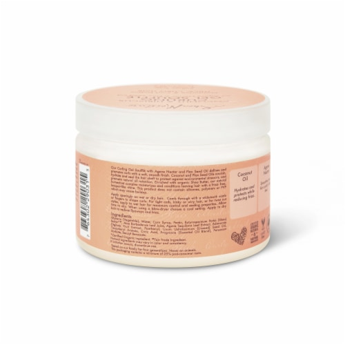 Shea Moisture® Coconut & Hibiscus Curling Gel Souffle for Thick Curly Hair Perspective: back
